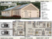 narrow lot kit home
