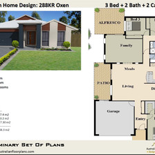 Free 3 Bed House Plan Australia