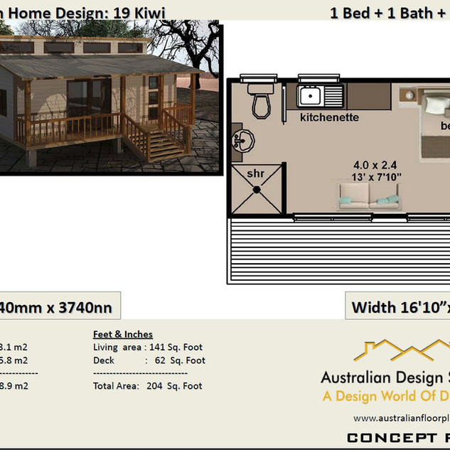 1 Bedroom Free Home Design