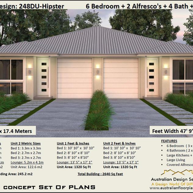 Modern duplex design Free Download Verson