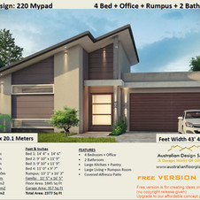 Free 4 bedroom house plans
