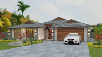 house 3 d render example