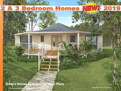 2 and 3 Bedroom -house Plan Design Book