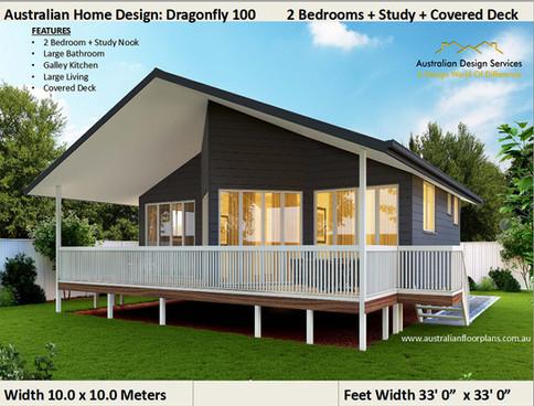 100 Dragonfly Affordable Kit Home Design 100DRAGON