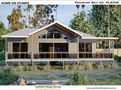 Home on Stumps Design: 139.9 David