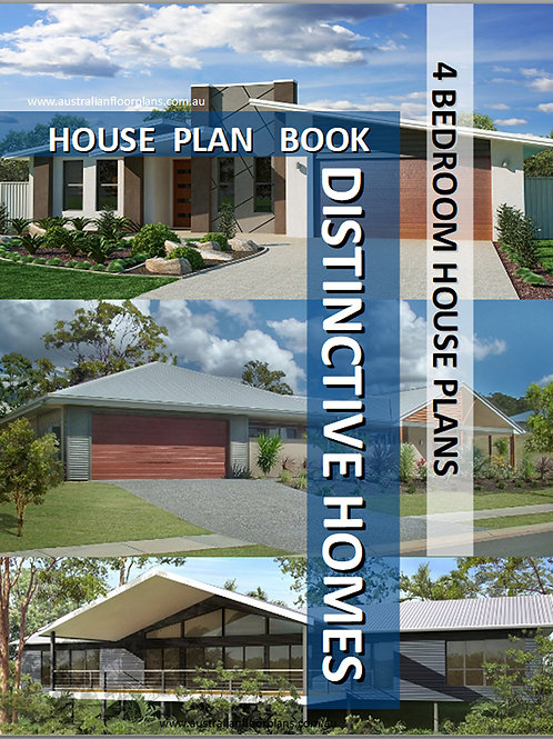 4 bedroom One Level House Plans Book