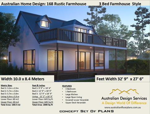 3 Bedroom Kithome Rustic Farmhouse
