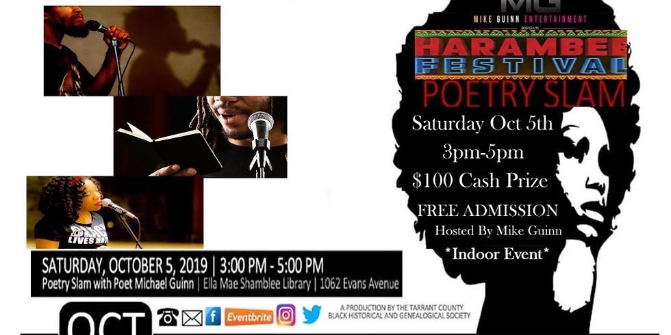 Harambee Festival Poetry Slam