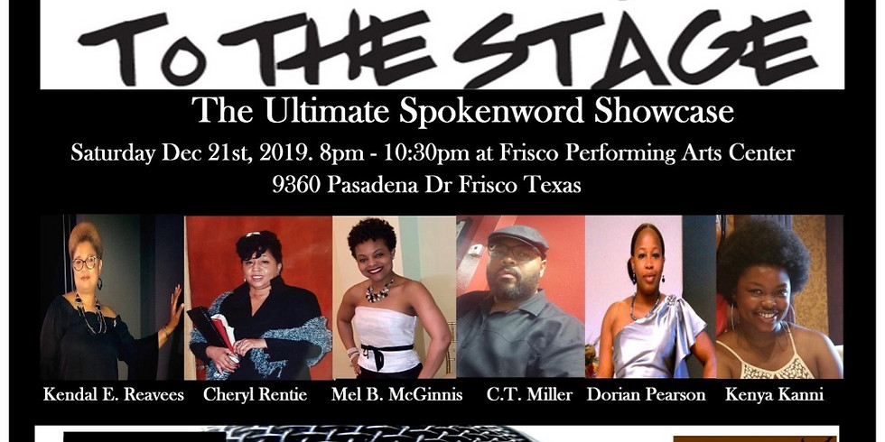From the Page to the Stage Spokenword Showcase