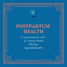 Discussing Postpartum Health