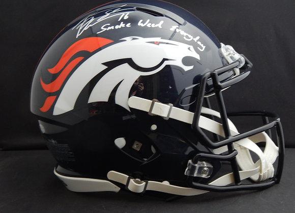 Jake Plummer Denver Broncos Full Size Speed Proline w/ Inscription