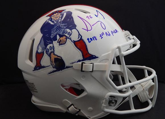 Sony Michel New England Patriots Speed Authentic w/ Inscription
