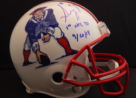 Sony Michel New England Patriots Full Size Proline Authentic w/ Inscription
