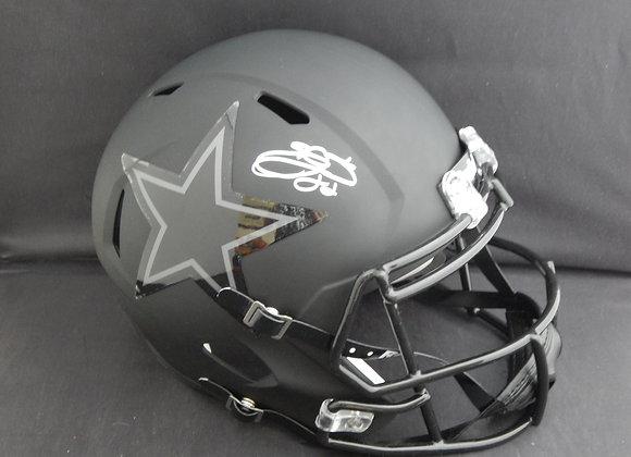 Emmitt Smith Dallas Cowboys Full Size Matte Black Speed Replica