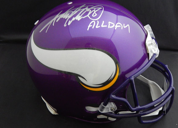 Adrian Peterson Minnesota Vikings Full Size Proline Authentic w/ Inscription