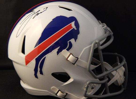 Josh Allen Buffalo Full Size Bills Speed Replica