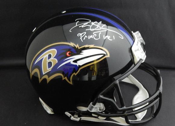 Deion Sanders Baltimore Ravens Full Size Proline Authentic w/ Inscription