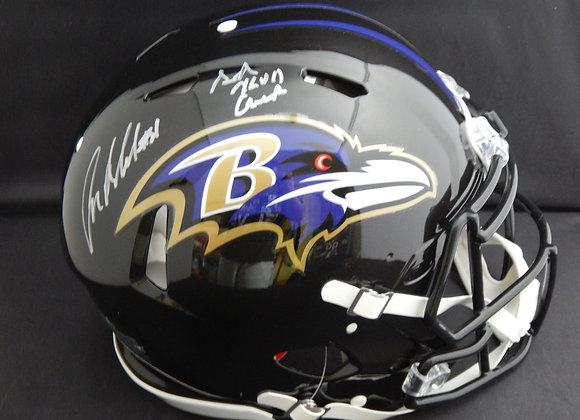 Anquan Boldin Baltimore Ravens Full Size Speed Authentic w/ Inscription