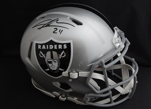 Charles Woodson Oakland Raiders Full Size Speed Replica