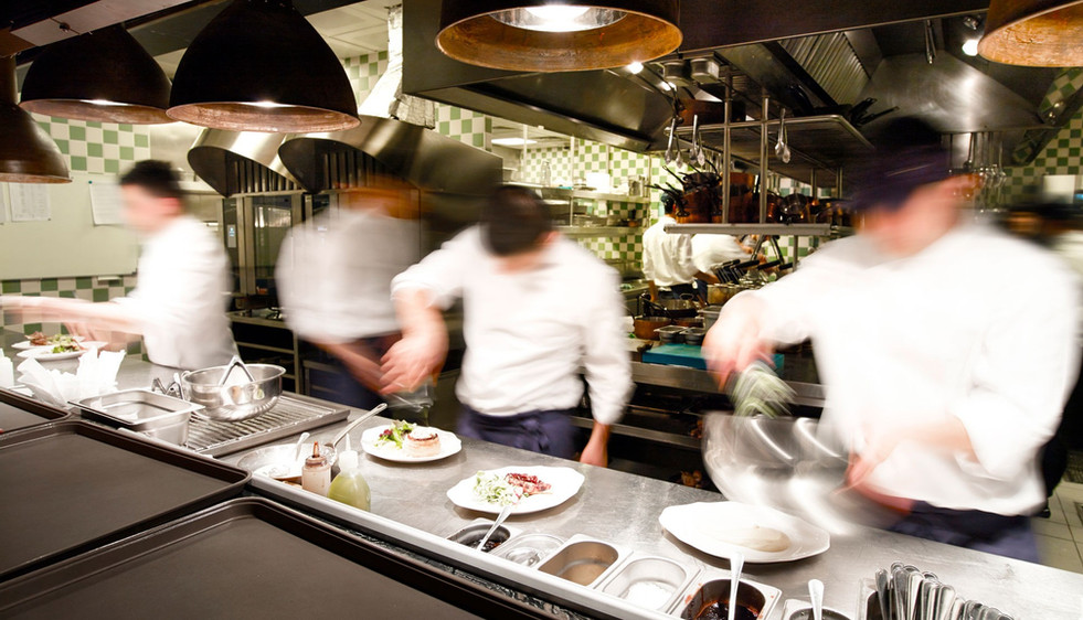 Construct Catering chefs