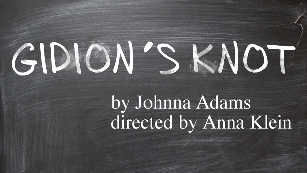 Gidion's Knot Scene