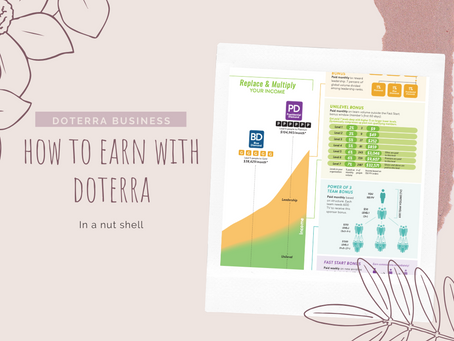 How to earn money with doTERRA