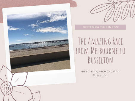 The Amazing Race from Melbourne to Busselton