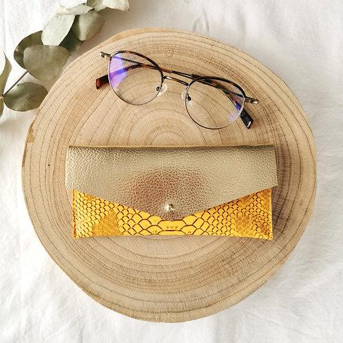 Etui à lunettes   COLETTE   Jaune