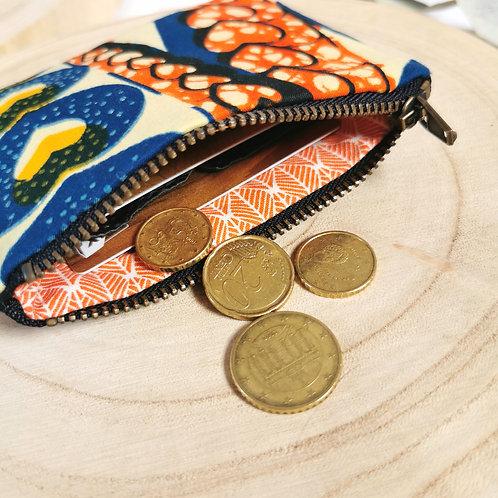 Porte-monnaie | ORIANE | Wax coeurs