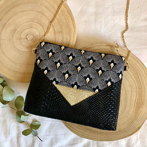 Pochette | MINI BILLIE | Eventails noir