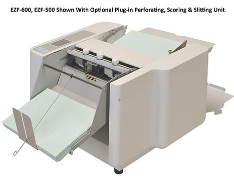 EZF-600-500 Shown with Perforate Kit Opt