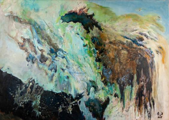 Peinture abstraite contemporaine Purification