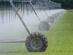 Valley Pivot Agricultural Irrigation