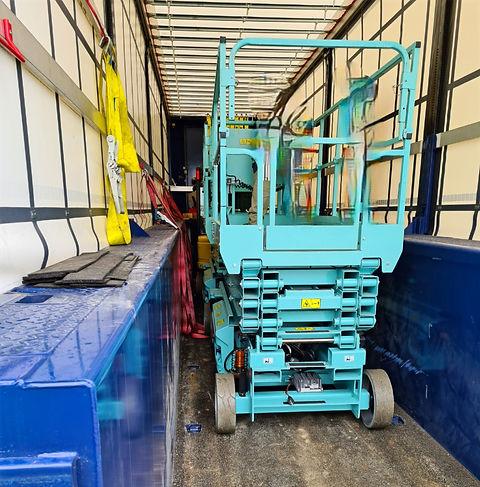 Arbeitsbühnentransporte Arbeitsbühne S&W