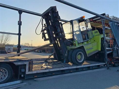 Spezialtransporte S&W Spedition Gabelstapler