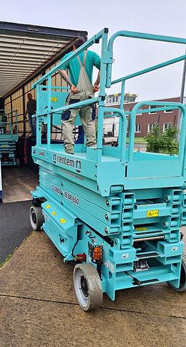 Transport Arbeitsbühne S&W