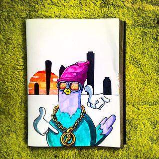 sketches, cartoon illustration, cartoon character, sketch, sketchbook, hiphop character