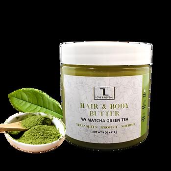 NATURAL MATCHA GREEN TEA HAIR & BODY BUTTER
