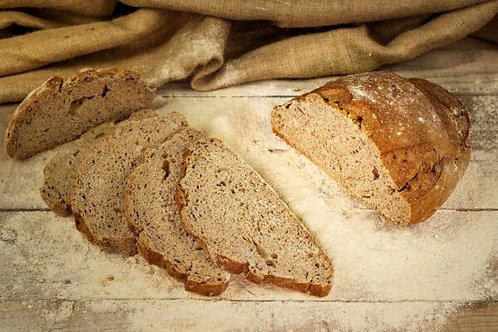 Pane di Segale e Semi di Lino