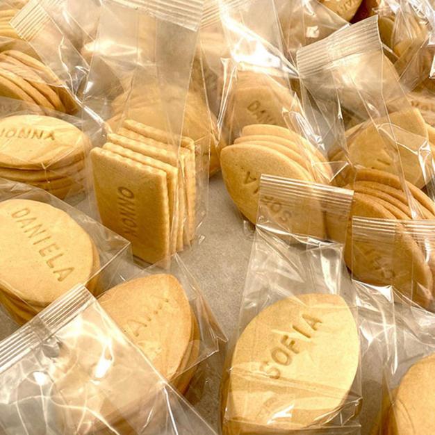 Biscotti deliziosi e personalizzati