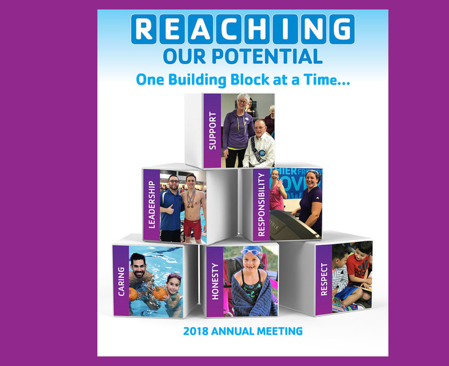 NMYMCA Annual Meeting:  REACHING OUR POTENTIAL. One Building Block at a Time...