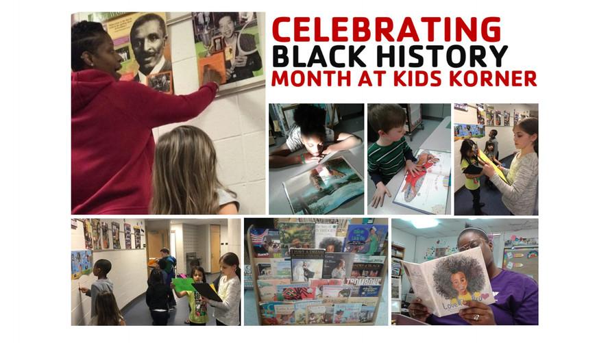 Kids Korner Celebrates Black History Month