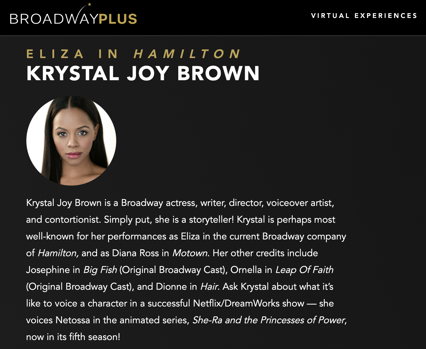 Meet KJB on Broadway Plus!