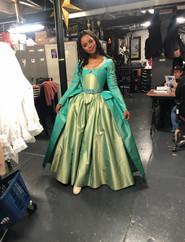 Krystal as Eliza in Hamilton Broadway!