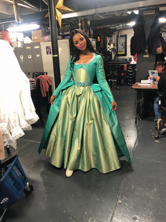 Krystal as Eliza in Hamilton Broadway!