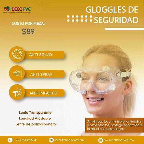 GLOGGLES DE SEGURUDAD