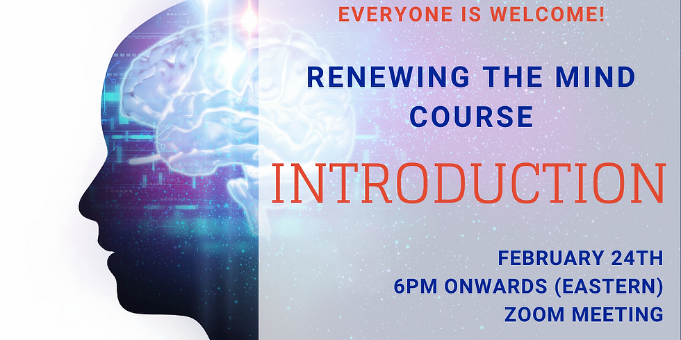 Renewing The Mind - Meeting