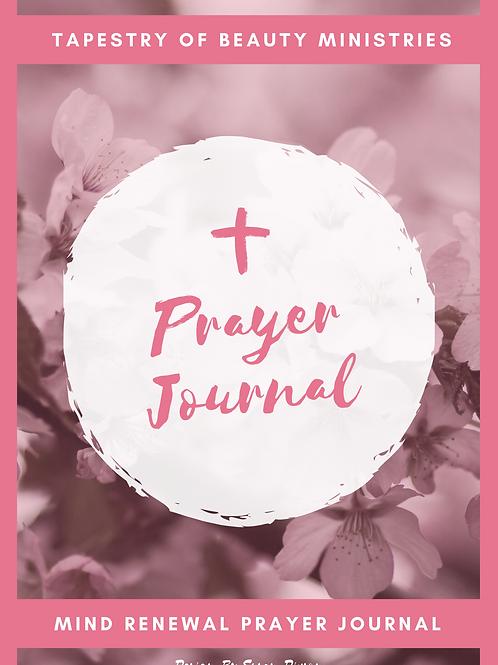 Prayer Journal - Mind Renewal
