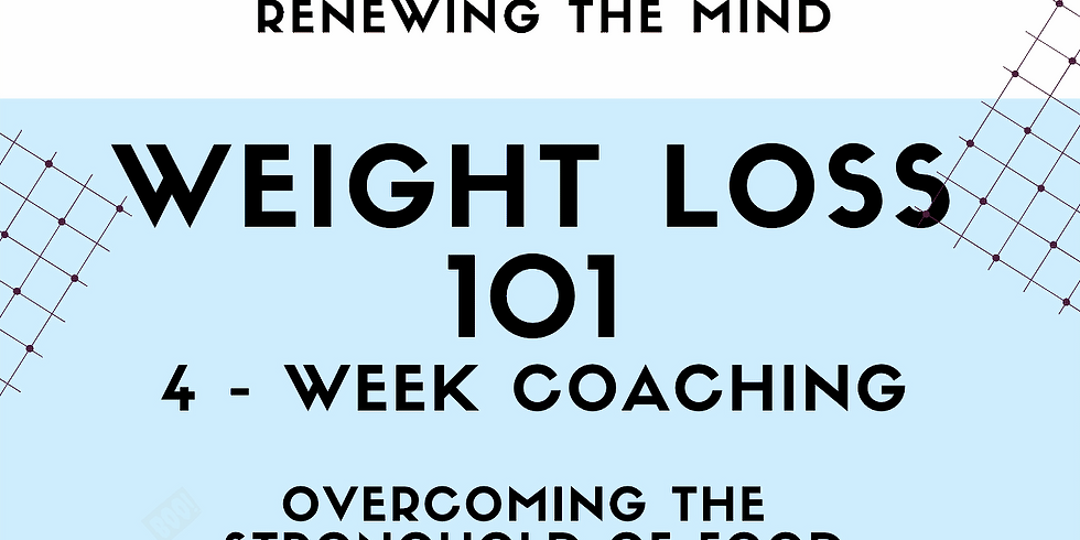 Course - Weight Loss 101 (4 Weeks)