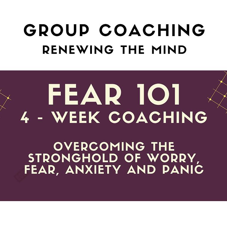 Course - Fear 101 (4 Weeks)